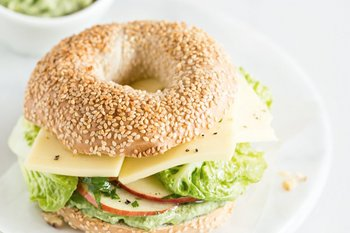 Bagel «Crazy Day» au Tilsiter